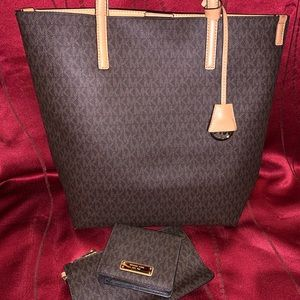 Large MK Tote and Wallet